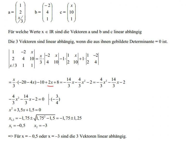 Vektoren Rechnung : vektoren vektor rechnung lineare abh ngigkeit mathelounge ~ Themetempest.com Abrechnung