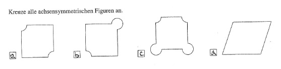 achsensymmetrie achsensymmetrische figuren identifizieren mathelounge. Black Bedroom Furniture Sets. Home Design Ideas