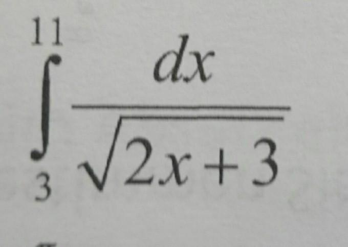 integralrechnung berechne das integral von f x 1 2x 3 von x 3 bis 11 mathelounge. Black Bedroom Furniture Sets. Home Design Ideas