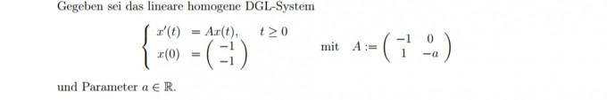 differentialgleichung homogenes dgl system diagonalisierbarkeit pr fen und awp l sen mathelounge. Black Bedroom Furniture Sets. Home Design Ideas