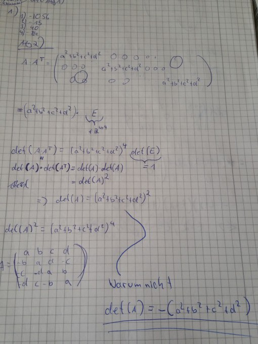 lineare algebra eine frage wegen lineare algebra erkl rung gesucht mathelounge. Black Bedroom Furniture Sets. Home Design Ideas