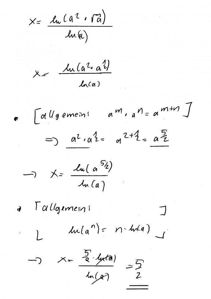 Logarithmus Aufgaben | Mathelounge