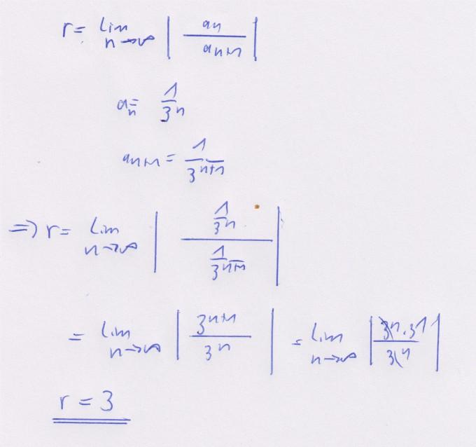 Konvergenzradius Einer Potenzreihe Berechnen Mathelounge