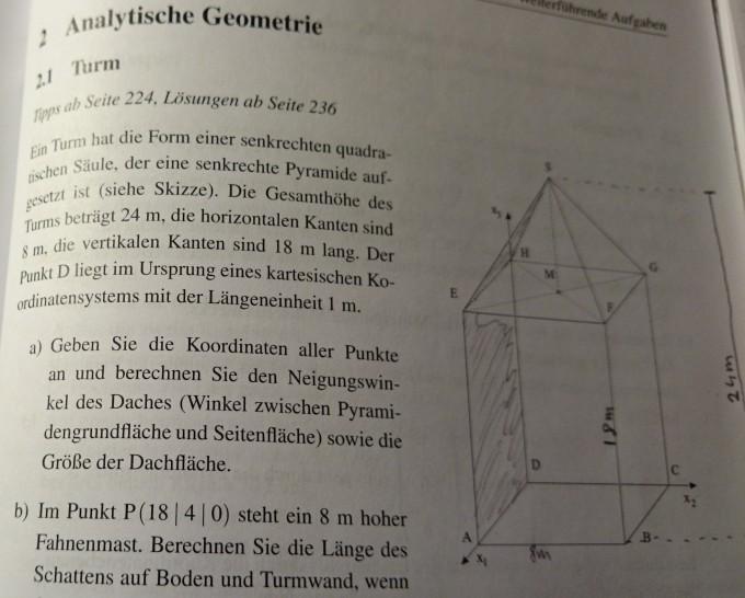 analytische geometrie neigungswinkel bestimmen mathelounge. Black Bedroom Furniture Sets. Home Design Ideas