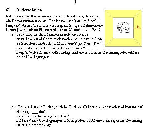 fl che fl chen berechnen bilderrahmen mit elephant mathelounge. Black Bedroom Furniture Sets. Home Design Ideas