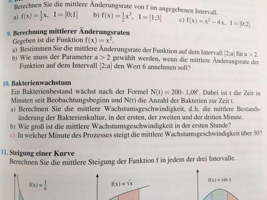 """Gemütlich Ã""""nderungsrate Und Steigung Arbeitsblatt Mit Antworten ..."""