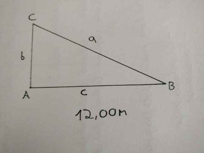 Seiten vom rechtwinkligen Dreieck bestimmen mit einer Angabe ...