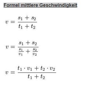 Durchschnittsgeschwindigkeit Berechnen Mathe : durchschnittsgeschwindigkeit berechnen mathelounge ~ Themetempest.com Abrechnung