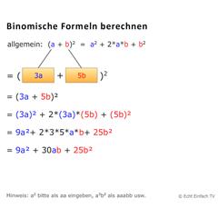 neues matheprogramm binomische formeln berechnen mathelounge. Black Bedroom Furniture Sets. Home Design Ideas