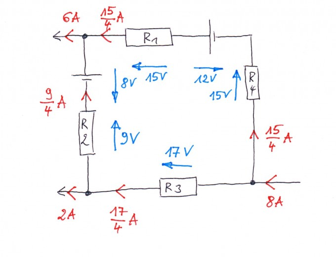 elektrotechnik netzwerk berechnen bitte um kontrolle. Black Bedroom Furniture Sets. Home Design Ideas