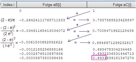 Logarithmus Berechnen Ohne Taschenrechner : logarithmus naturalis ausrechnen ohne taschenrechner mathelounge ~ Themetempest.com Abrechnung