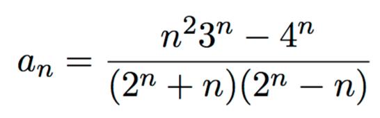 Wie kann ich die Konvergenz Bestimmen mit n als Exponent ...