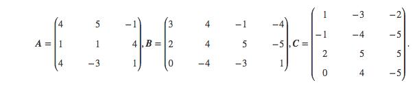 matrix die matrix d sei definiert durch d a b 2c welche der folgenden aussagen sind. Black Bedroom Furniture Sets. Home Design Ideas