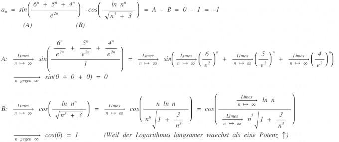 grenzwert berechnen  sinn  nen