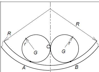 radius winkel berechnen aus 2 radien wird der winkel ben tigt mathelounge. Black Bedroom Furniture Sets. Home Design Ideas