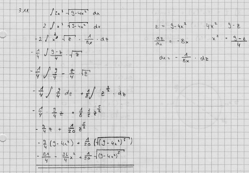 integral von 2x 3 9 4x 2 und eine kurvendiskussion mit trigonometrischer gleichung. Black Bedroom Furniture Sets. Home Design Ideas