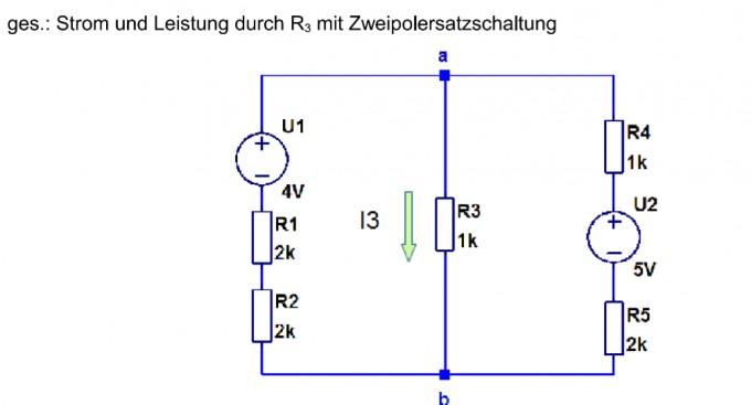 elektrotechnik berechnung einer zweipol schaltung nanolounge. Black Bedroom Furniture Sets. Home Design Ideas