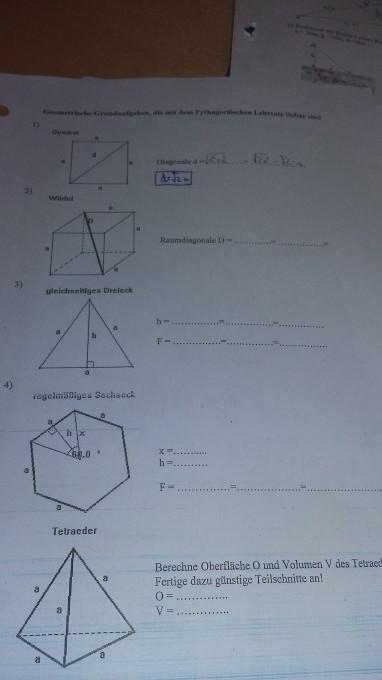 geometrische grundaufgaben pythagor ischer lehrsatz. Black Bedroom Furniture Sets. Home Design Ideas