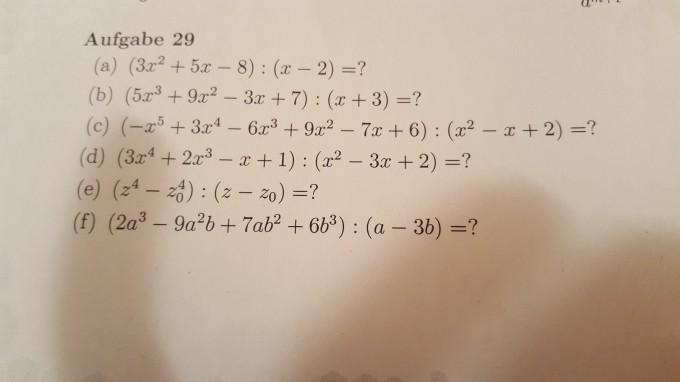 Gleichungen dividieren wie geht das? | Mathelounge