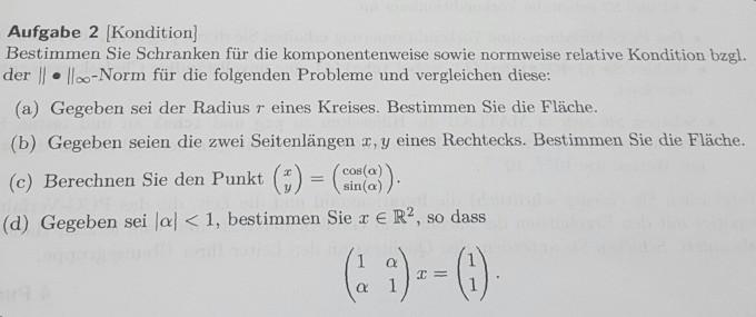 matrixnorm berechnen