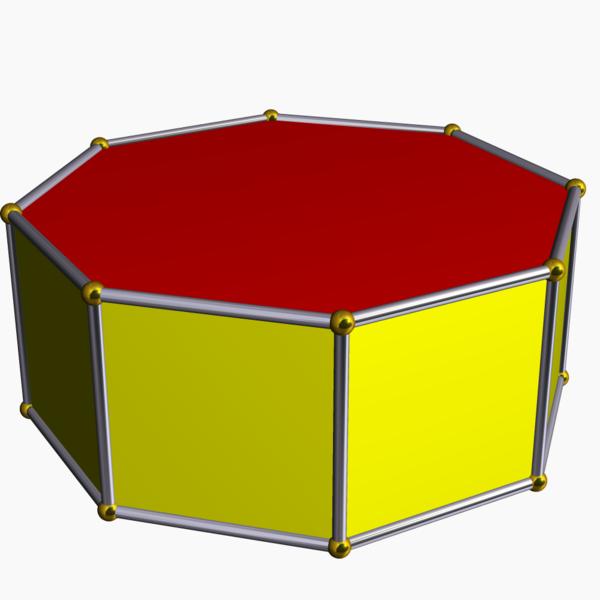 Kanten ecken prisma und Mit Ecken