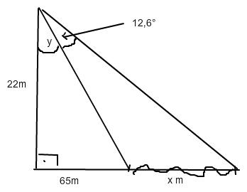 trigonometrie breite eines flusses mathelounge. Black Bedroom Furniture Sets. Home Design Ideas