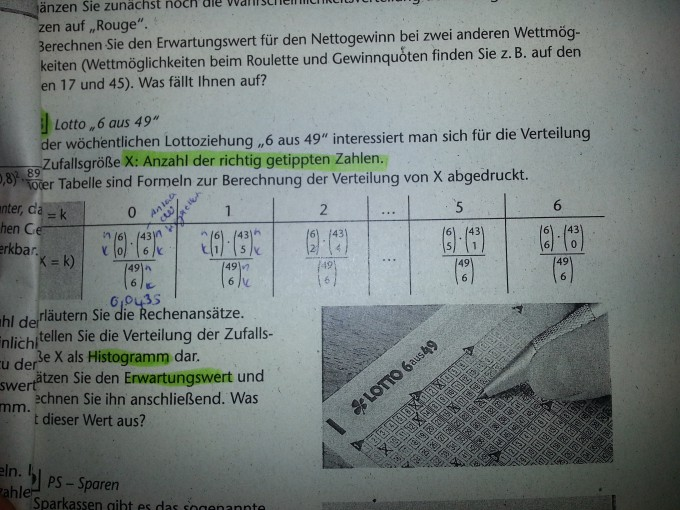 Lotto Erwartungswert
