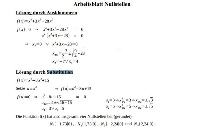 Ungewöhnlich Gleichungssysteme Durch Substitution Arbeitsblatt ...