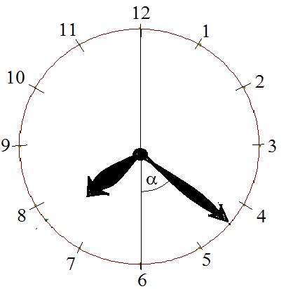 Winkel Uhr Arbeitsblatt