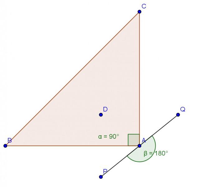 dreieck abc spiegele punkt d an ab und an ac. Black Bedroom Furniture Sets. Home Design Ideas