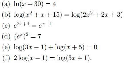 logarithmus exponentialfunktion gleichungen l sen. Black Bedroom Furniture Sets. Home Design Ideas