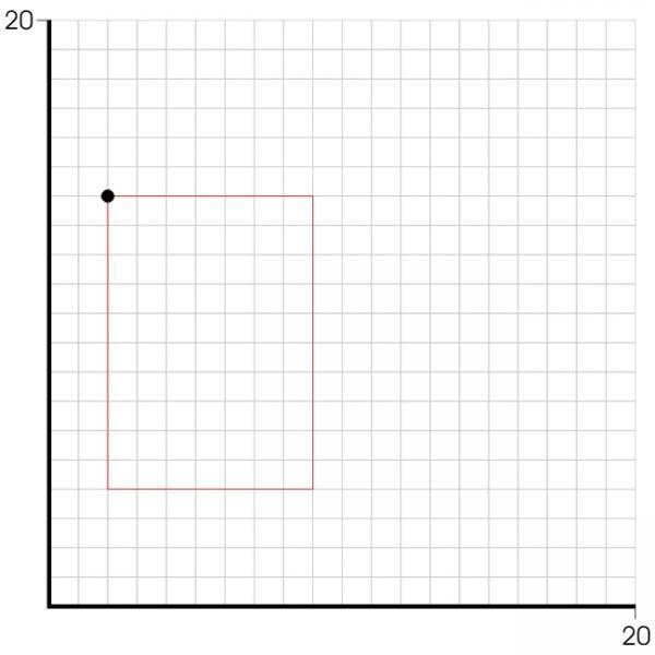 rechteck drehung eines rechtecks um einen eckpunkt berechnung der koordinaten der anderen. Black Bedroom Furniture Sets. Home Design Ideas