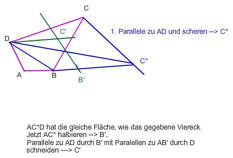 parallelogramm trigonometrie viereck in fl chengleiches. Black Bedroom Furniture Sets. Home Design Ideas