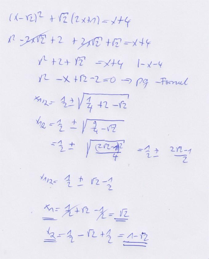 Fantastisch Quadratische Formel Arbeitsblatt Mit Antworten Galerie ...