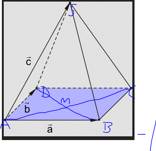 pyramide dr cken sie mithilfe von a b und c die vektoren sd cs sb ac aus mathelounge. Black Bedroom Furniture Sets. Home Design Ideas