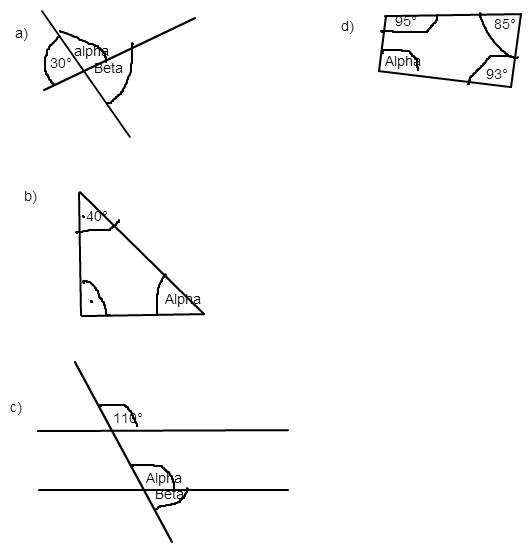 winkelnamen winkel bei parallelen dreiecken vierecken distributivgesetz mathelounge. Black Bedroom Furniture Sets. Home Design Ideas