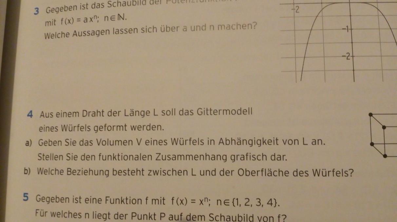 Polynomfunktionen ich versteh nicht wie ich das machen soll klar ...