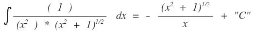 pr fen der richtigkeit eines integrals f x x 2 1 1 2 x c mathelounge. Black Bedroom Furniture Sets. Home Design Ideas