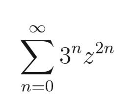Berechnen Sie Den Konvergenzradius Der Folgenden Potenzreihe Siehe Bild Mathelounge
