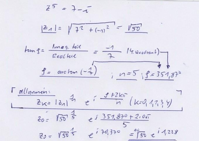 Niedlich Komplexe Zahlen Und | Hese