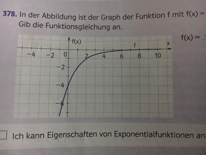 exponentialfunktion im graphen funktionsgleichung f x. Black Bedroom Furniture Sets. Home Design Ideas