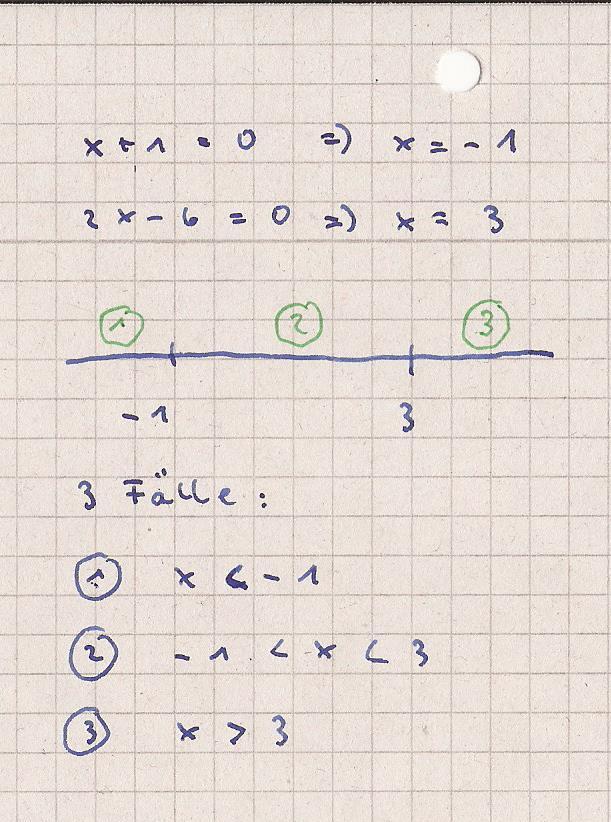 ungleichungen betragsungleichung berechnen x 1 2x 6 10 mathelounge. Black Bedroom Furniture Sets. Home Design Ideas