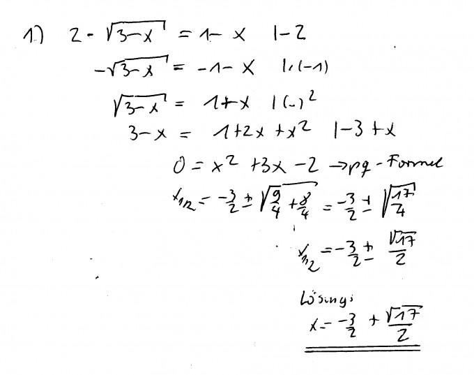 Großzügig Die Grafische Darstellung Absolutwert Gleichungen ...