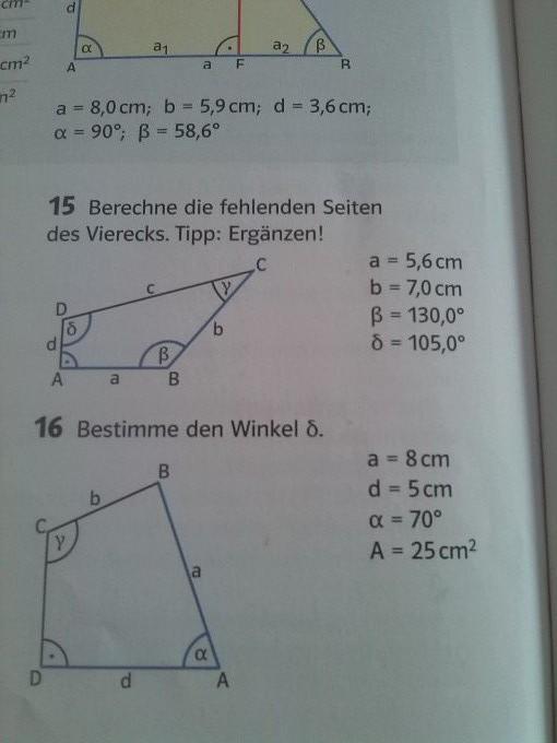 Vieleck zerlegen - Trigonometrie   Mathelounge