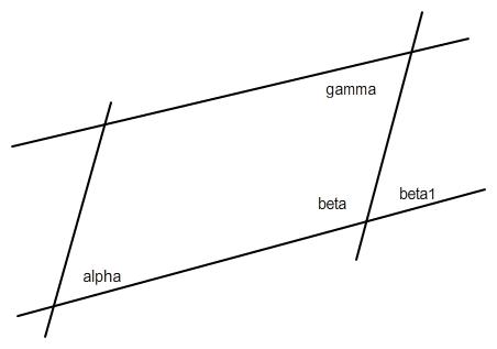 benachbarte innenwinkel in einem parallelogramm erg nzen. Black Bedroom Furniture Sets. Home Design Ideas