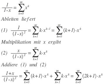 Potenzreihe Zur Erzeugenden Funktion 1x 1 X2 Mathelounge