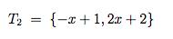 Erzeugendensystem Polynome ( beweisen , dass die Vektoren ...