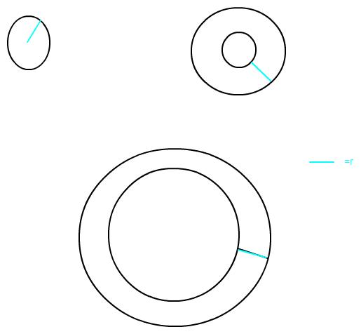 fl che und umfang berechnen kreisfiguren rundes beet mit. Black Bedroom Furniture Sets. Home Design Ideas