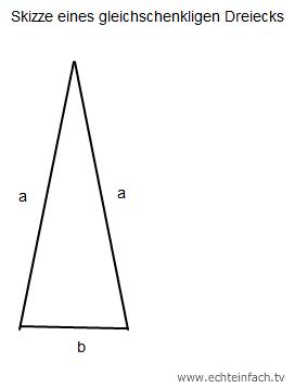 gleichung in einem gleichschenkligen dreieck ist ein schenkel 2 cm l nger als die basis wie. Black Bedroom Furniture Sets. Home Design Ideas