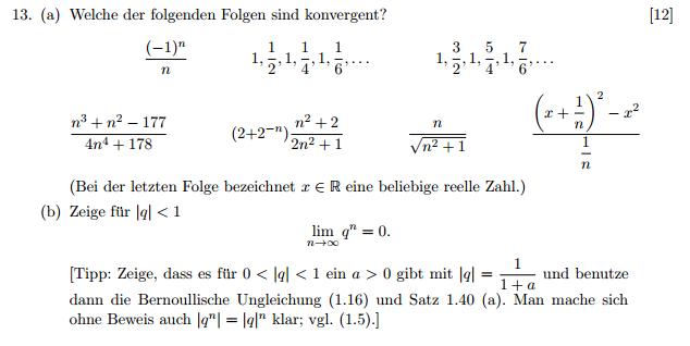 Konvergenz von Folgen mit dem Epsilon Kriterium | Mathelounge